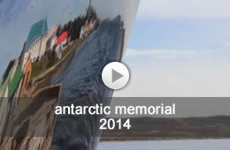 video - antarctic memorial - oliver barratt