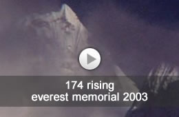 video - 174 rising - everest memorial - oliver barratt